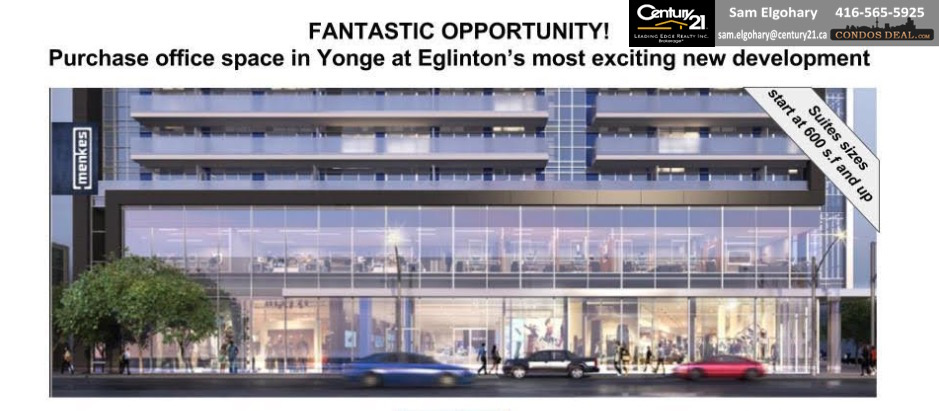 The Eglinton Office Condos Ad