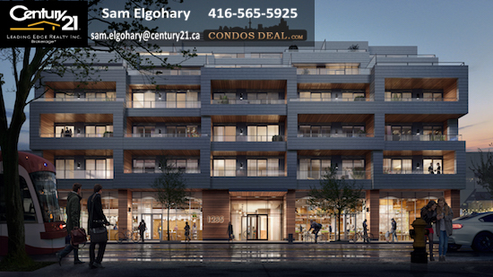 The Poet Condos Rendering