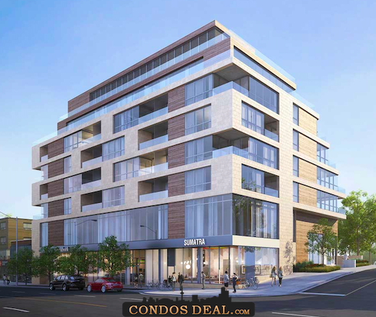 The Howard High Park Condos Rendering