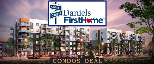 Daniels FirstHome™ Markham Sheppard Condos & Towns
