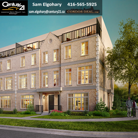 The Brownstones On Lawrence Towns Rendering 2