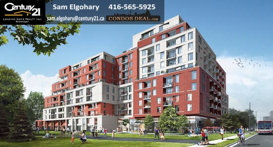 The Keeley Condos & Towns Rendering