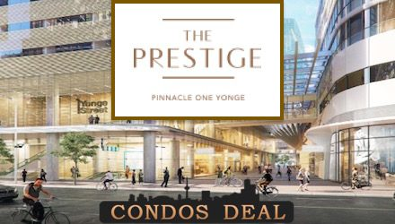 The Prestige Condos at Pinnacle One Yonge