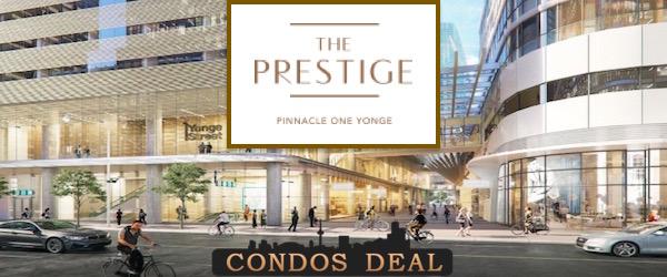 The Prestige Condos at Pinnacle One Yonge