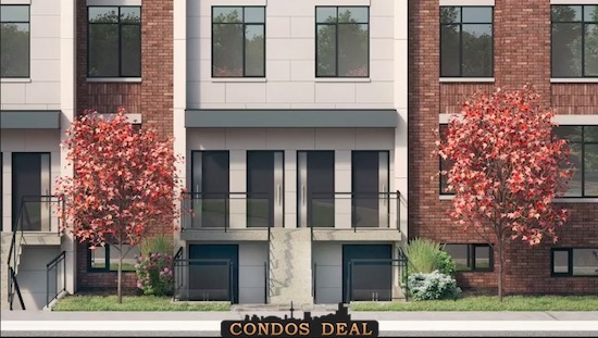 Stride Condos & Towns Town Rendering 5