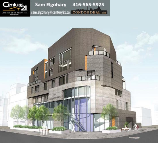 180 Sheppard Avenue East Condos Rendering