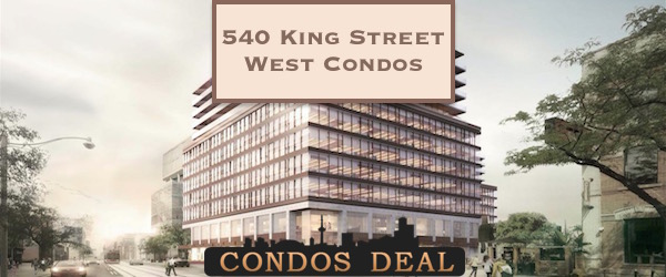 540 King Street West Condos