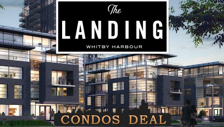 The Landing Condos at Whitby Harbour