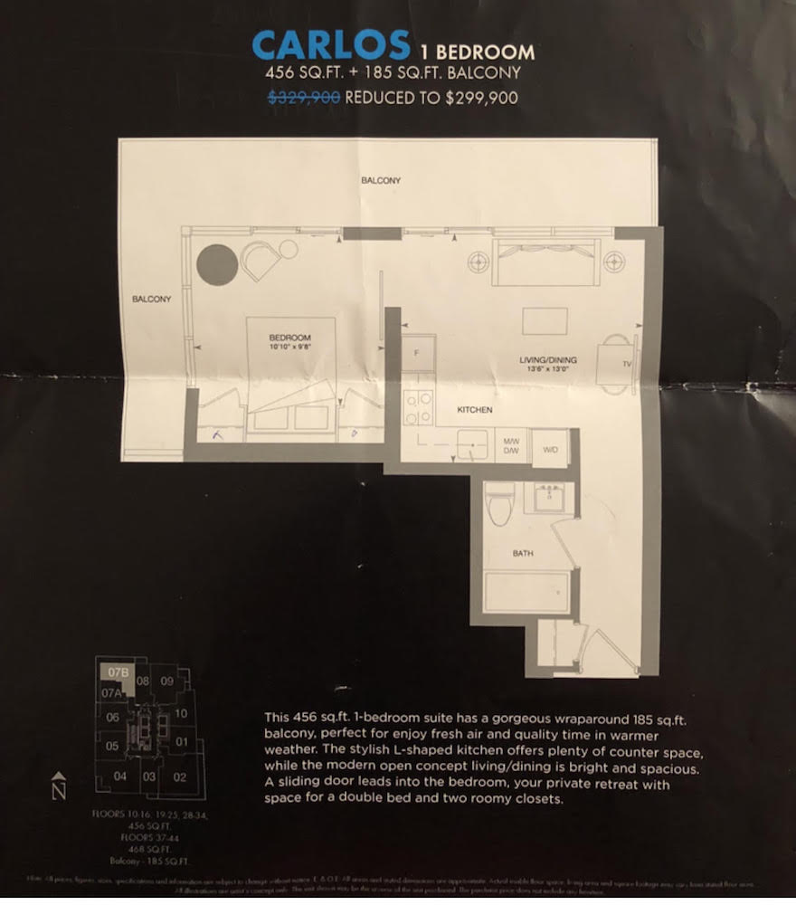 King Blue floor plans