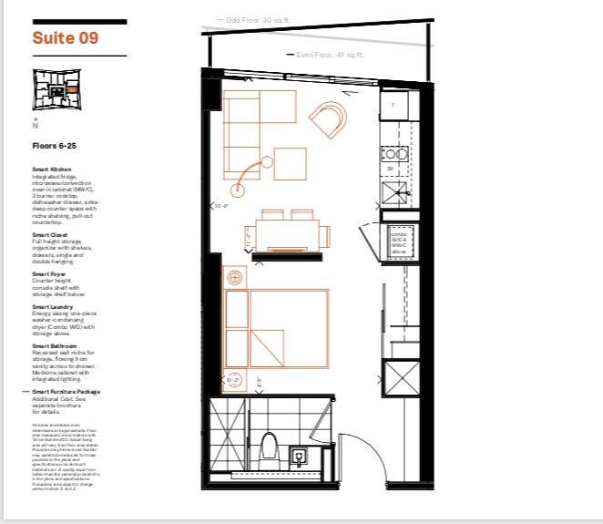 Smart House Condos Floor Plan