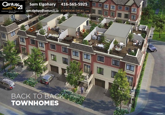 Baker Hill Towns Back to Back townhomes