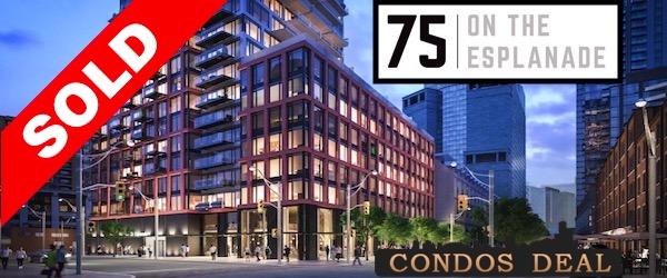 75 On The Esplanade Condos