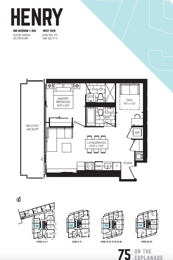 75 On The Esplanade Floor plan