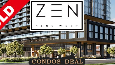 Zen King West Condos Sold