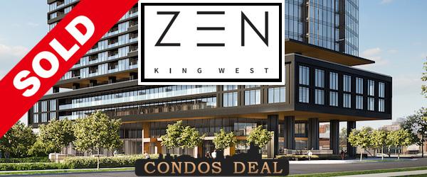 Zen King West Condos Sold
