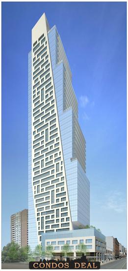 625 Yonge Street Condos Rendering