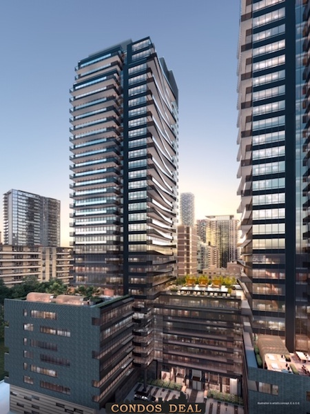 Line 5 Condos South Tower Rendering