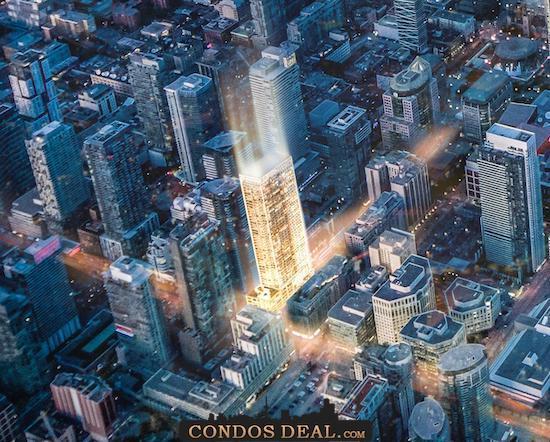 NO55 Mercer Condos Aerial view 2