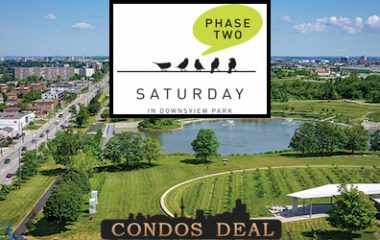 Saturday In Downsview Park Condos Phase two