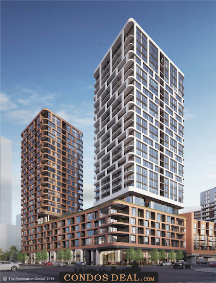 Gallery Towers Rendering 2
