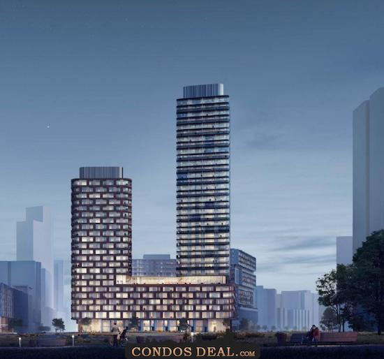 Gallery Towers Rendering 3