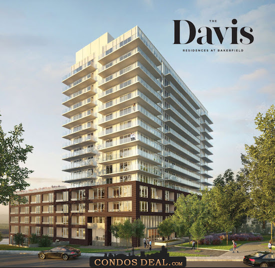 The Davis Residences at Bakerfield Rendering