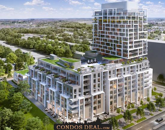 9825 Yonge Street Condos Rendering 3