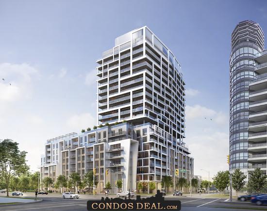 9825 Yonge Street Condos Rendering