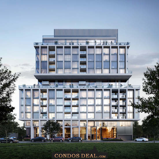 Rise at Stride Condos Rendering