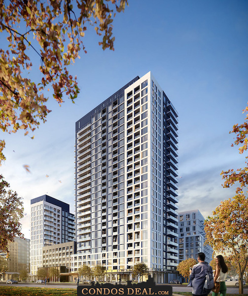 The Thornhill Condos Rendering