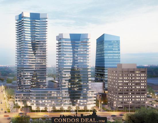 Lansing Square Condos South Rendering