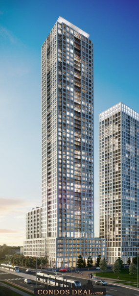 ORO at Edge Towers Rendering