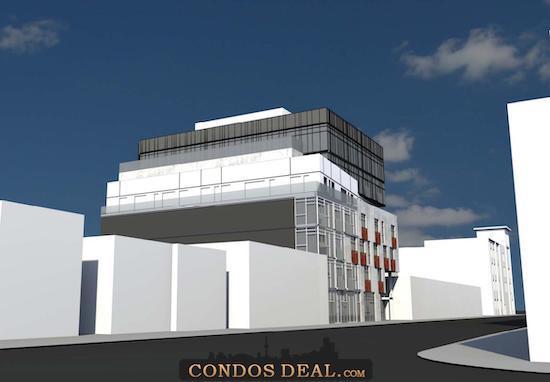 The BrickHouse Condos Rendering 3