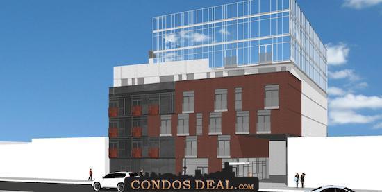 The BrickHouse Condos Rendering