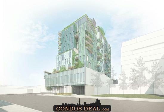 888 Dupont Street Condos Rendering 4