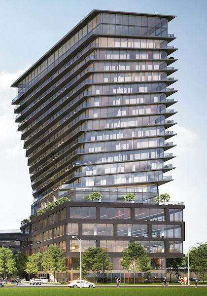 900 The East Mall Condos Rendering 3