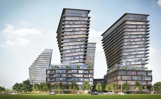 900 The East Mall Condos Rendering
