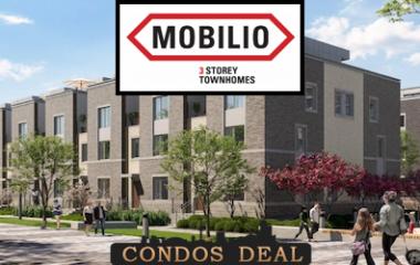 Mobilio 3 Storey Towns