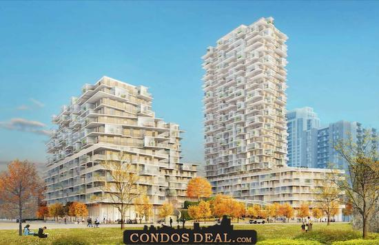 385 The West Mall Condos Rendering