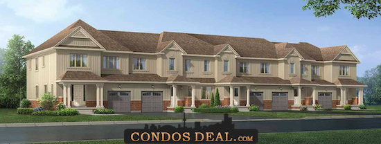 High Pointe Meadows Towns Rendering 2