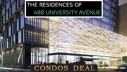The Residences of 488 University Avenue unit for lease