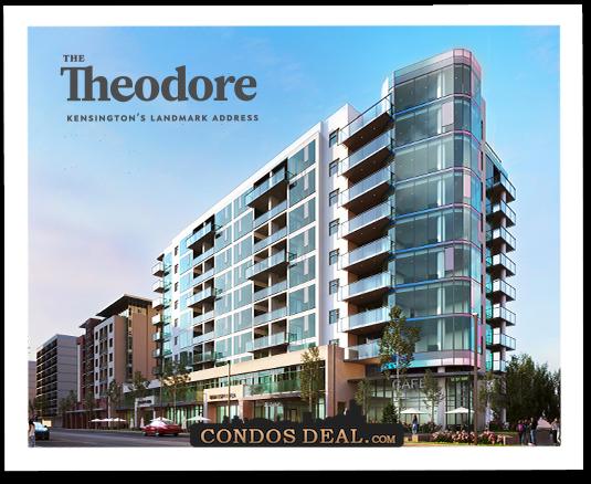 The Theodore Condos Rendering