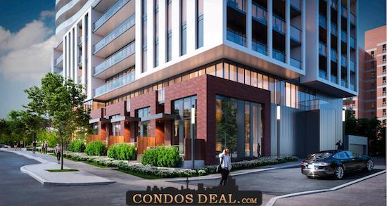 1 Fairview Road East Condos Rendering 2