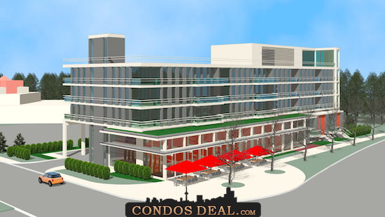 900 Middlefield Road Condos Rendering 2