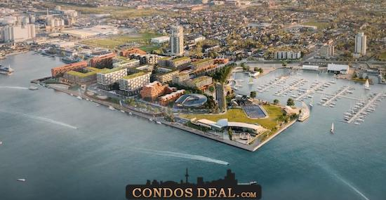 Waterfront Shores Condos Rendering 2