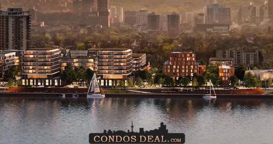 Waterfront Shores Condos Rendering 4