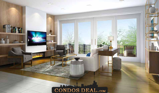 Mill House Townhomes Living