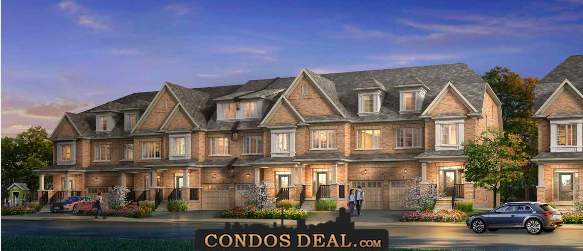 Mill House Townhomes Rendering 2