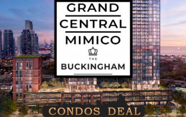Grand Central Mimico - The Buckingham Condos