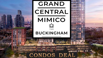 Grand Central Mimico - The Buckingham Condos